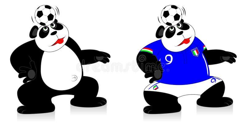 Panda Italy stock foto