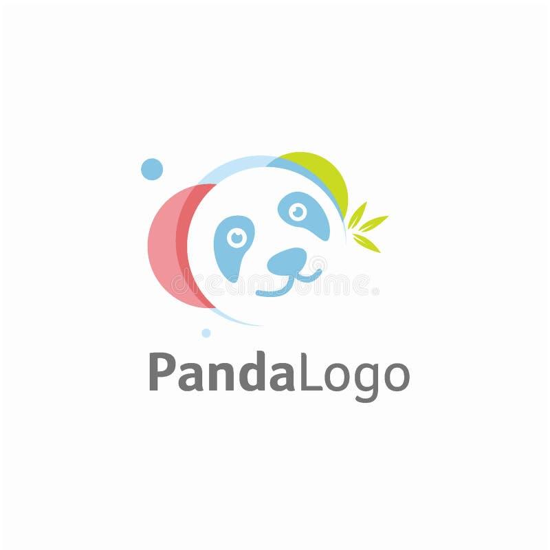Panda logo design concept, Animal logo template vector illustration