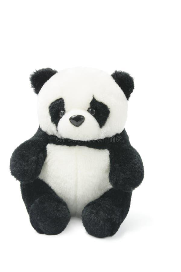Panda macia do brinquedo imagens de stock
