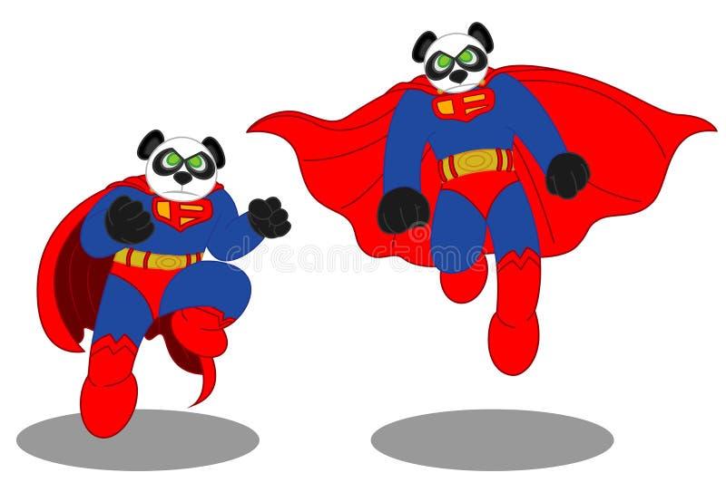 Panda Man 2 royalty-vrije stock afbeeldingen