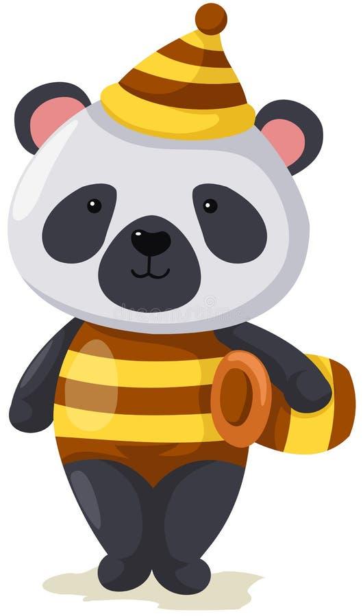 Panda mignon illustration stock