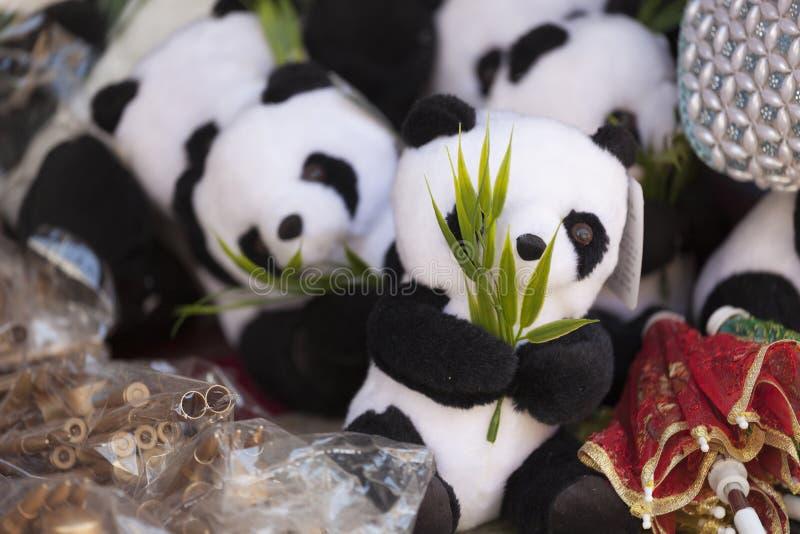 Panda& x27; s 免版税图库摄影