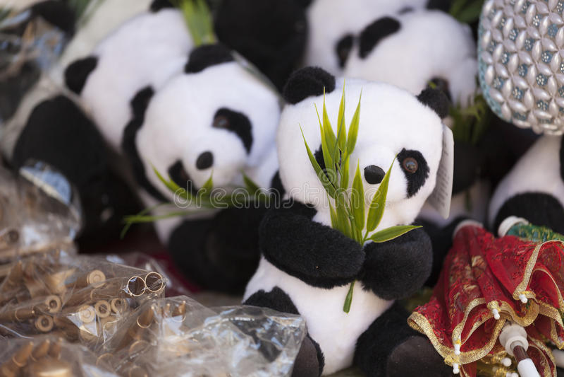 Panda& x27; s fotografia stock libera da diritti