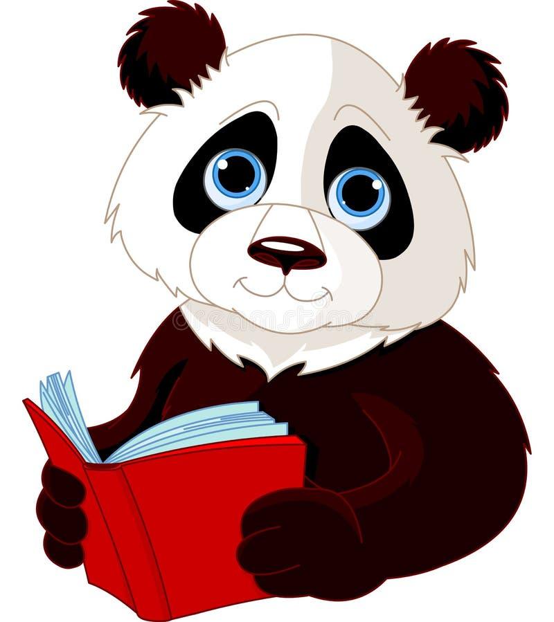Panda target839_1_ książkę ilustracja wektor