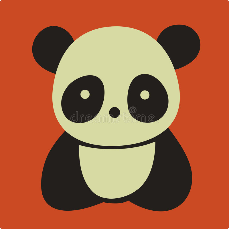panda wektor ilustracja wektor