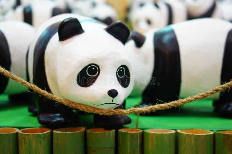 Pandaabwehr die Welt lizenzfreie stockbilder