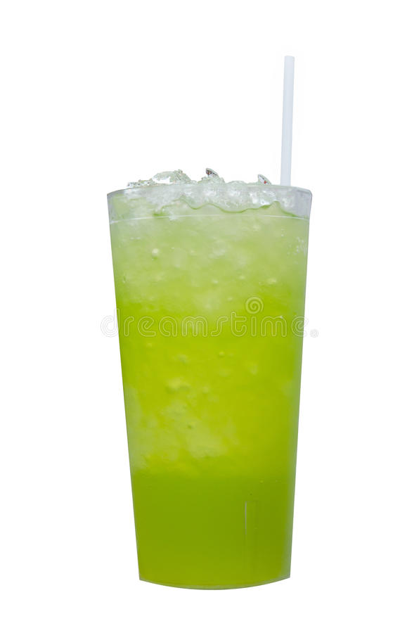 Pandan juice stock photography