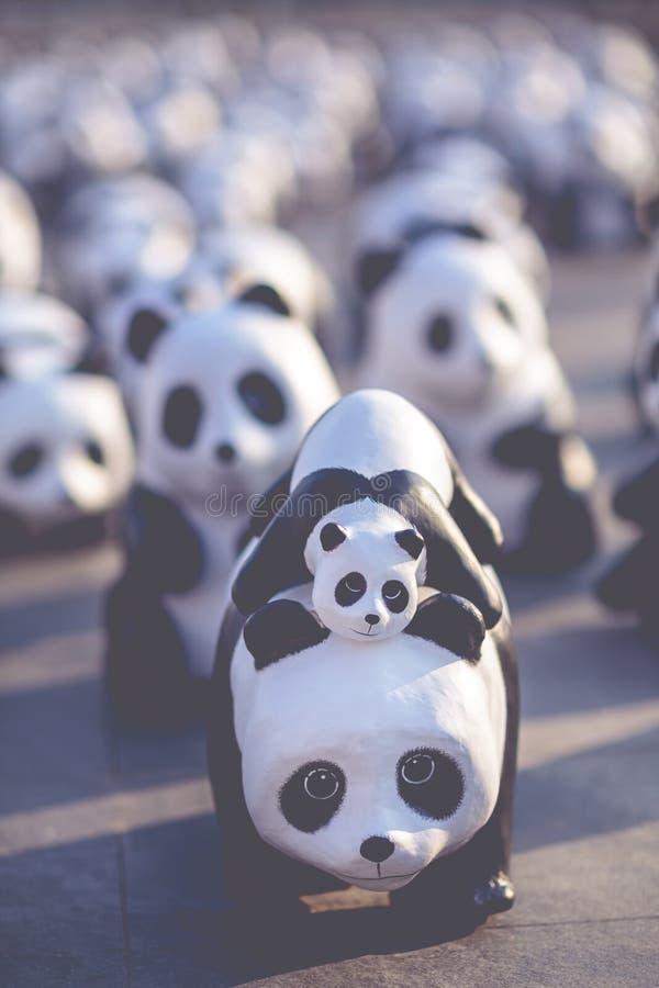 Pandapuppen stock abbildung