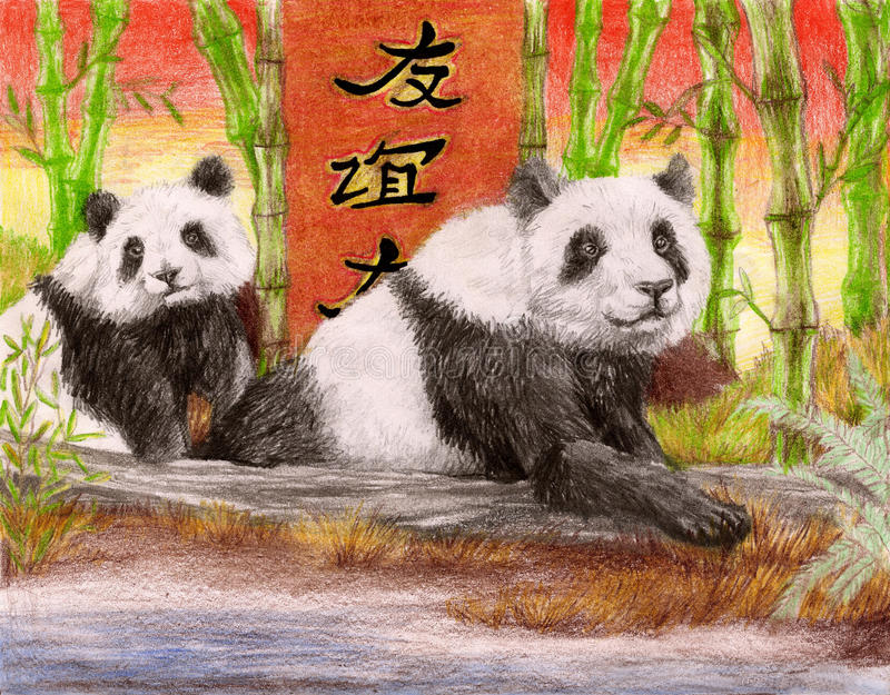 pandaship στοκ φωτογραφία με δικαίωμα ελεύθερης χρήσης