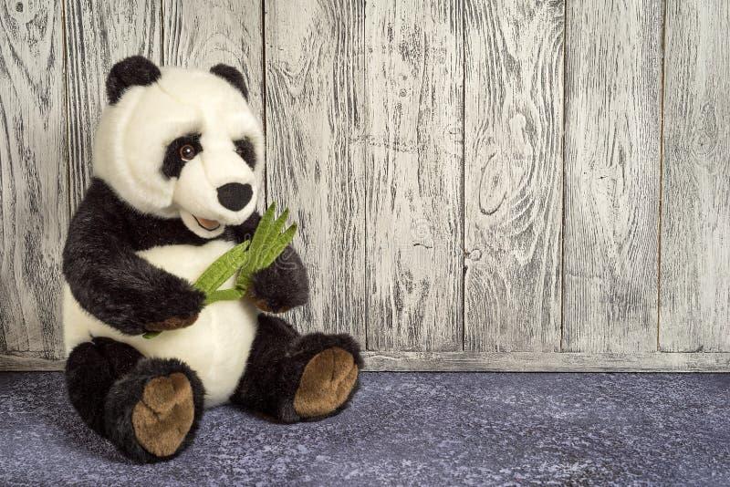 Pandastuk speelgoed royalty-vrije stock afbeelding