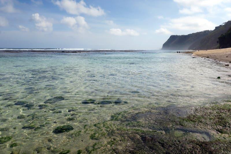 Pandawa Beach Bali Indonésia fotografia de stock