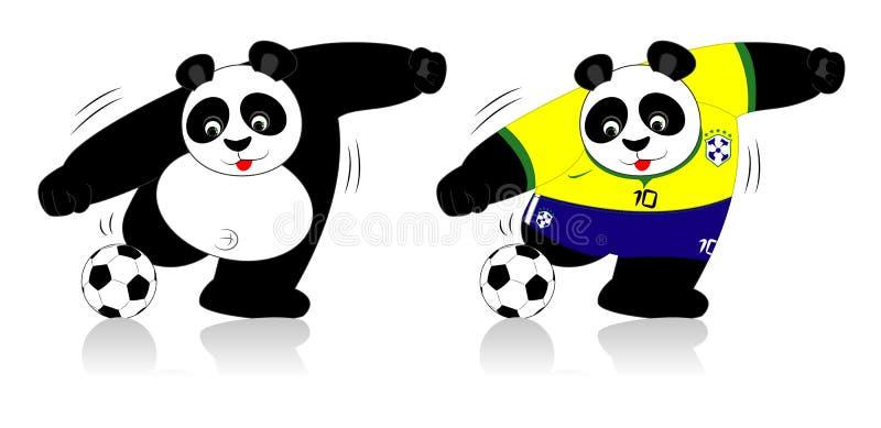 Pandawereldbeker stock afbeeldingen