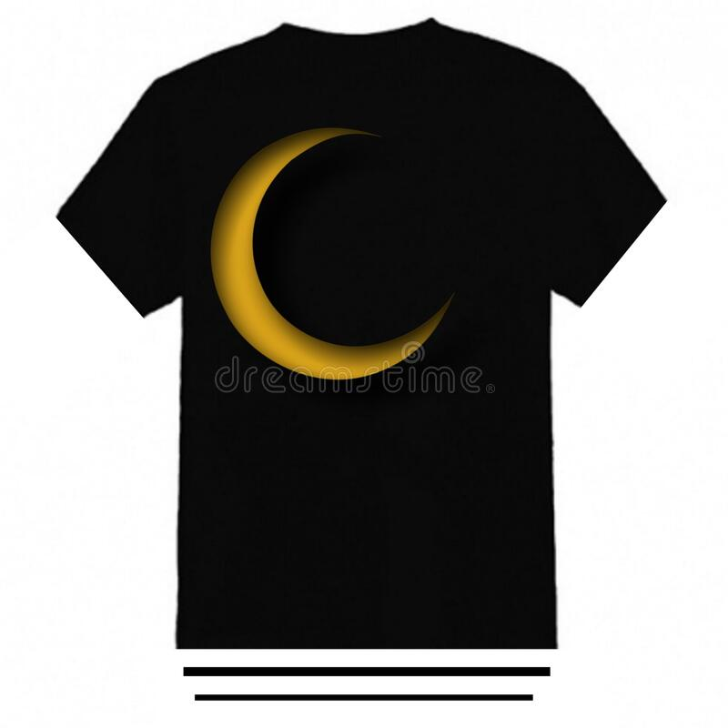 Moon t-shirt design is simple and elegant. Pandemic t-shirt design is simple and elegant royalty free stock photo
