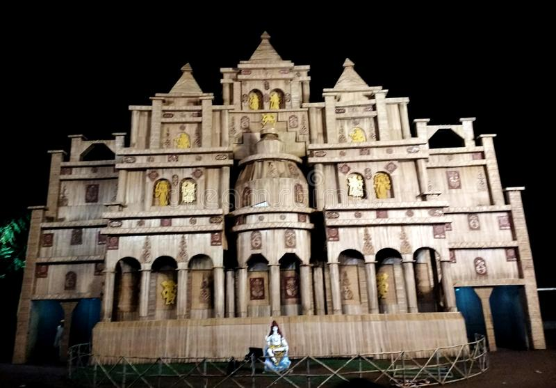 Pandle puja Durga стоковое фото