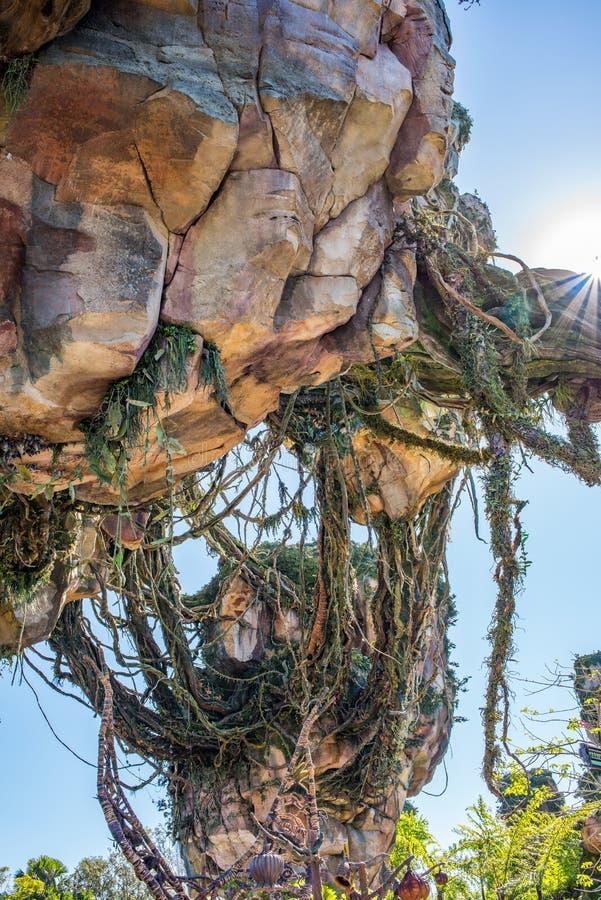"""Pandora †de """"Wereld van Avatar bij het Dierenrijk in Walt Disney World royalty-vrije stock fotografie"""