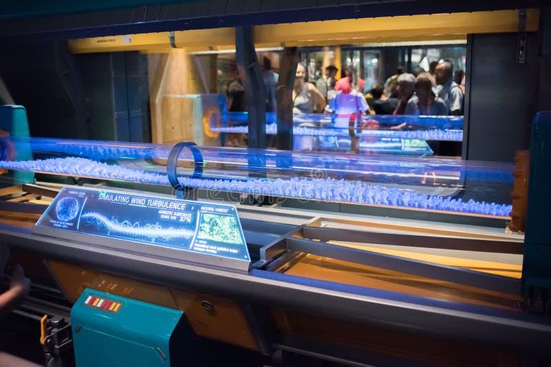 """Pandora †de """"Wereld van Avatar bij het Dierenrijk in Walt Disney World stock afbeeldingen"""