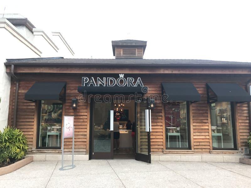 Pandora, Disney wiosny, Orlando, Floryda zdjęcia royalty free