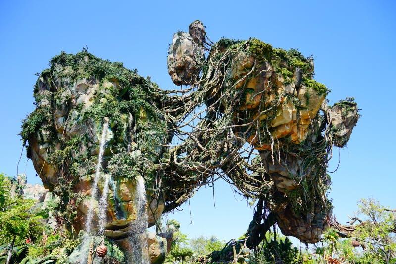 Pandora på den Disney djurriketen arkivfoton