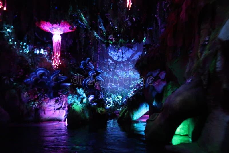 Pandora The World Of Avatar en Walt Disney imagenes de archivo