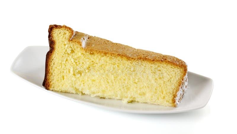 Pandoro do bolo do Natal imagem de stock royalty free