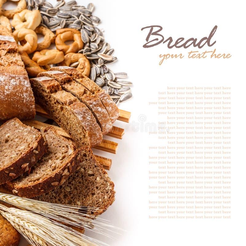 Pane affettato fotografia stock libera da diritti