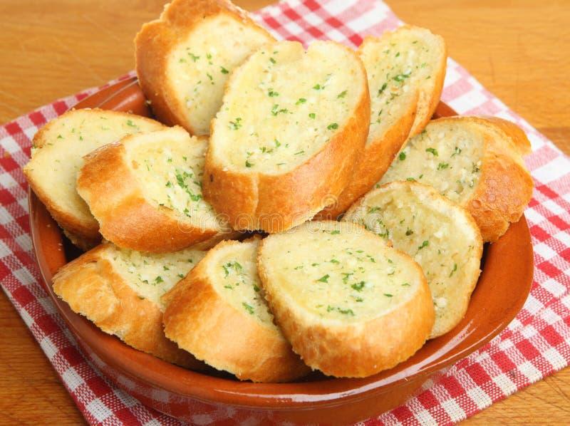 Pane all'aglio immagine stock libera da diritti
