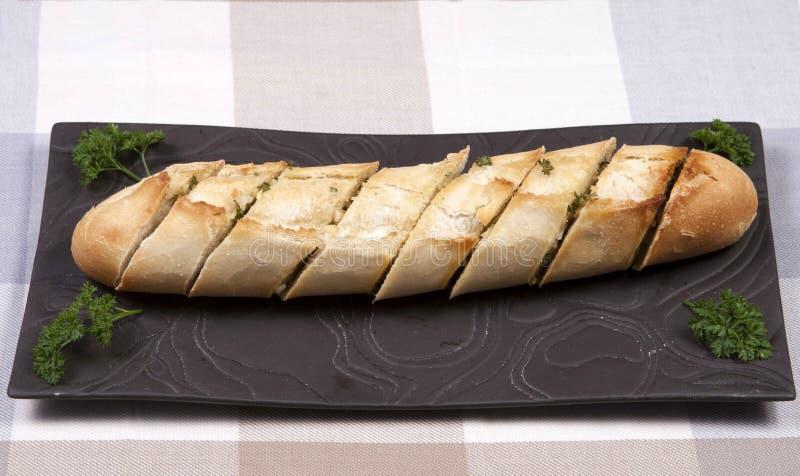 Pane all'aglio fotografia stock libera da diritti