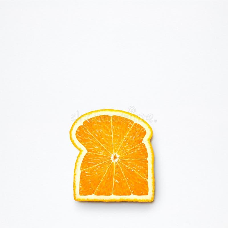 Pane arancio immagine stock libera da diritti