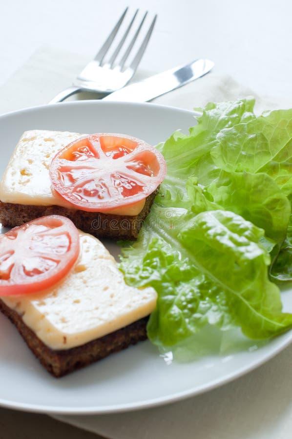 Pane con formaggio fotografia stock libera da diritti