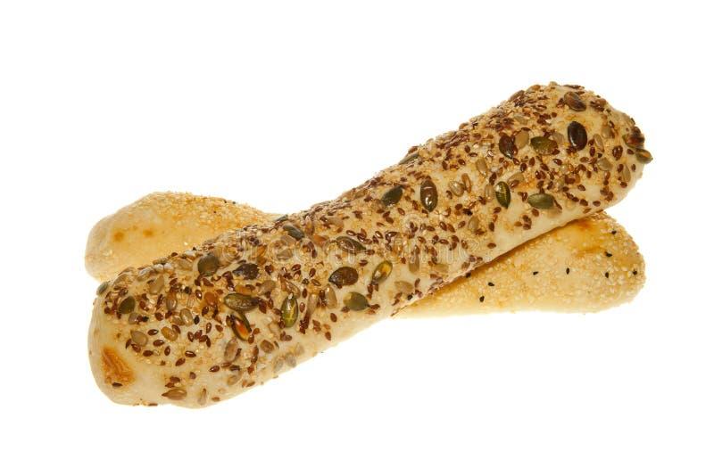 Pane del grano del grano intero fotografie stock libere da diritti