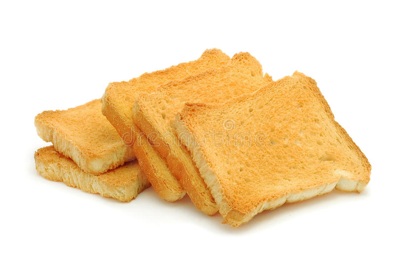 Pane del pane tostato immagini stock