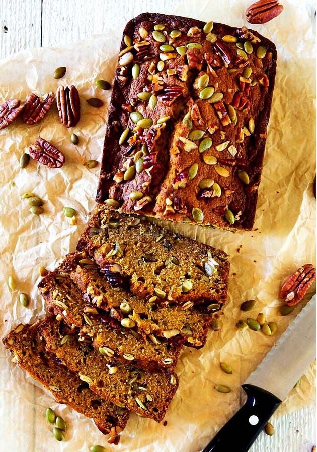 Pane della zucca - punto 23 fotografia stock