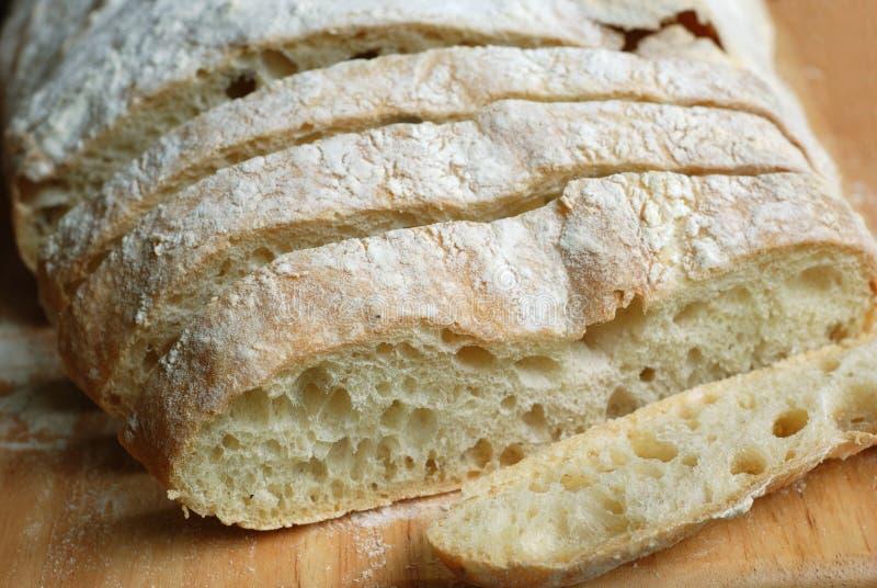 Pane di Ciabatta fotografia stock