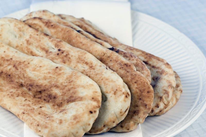 Pane di Naan immagine stock