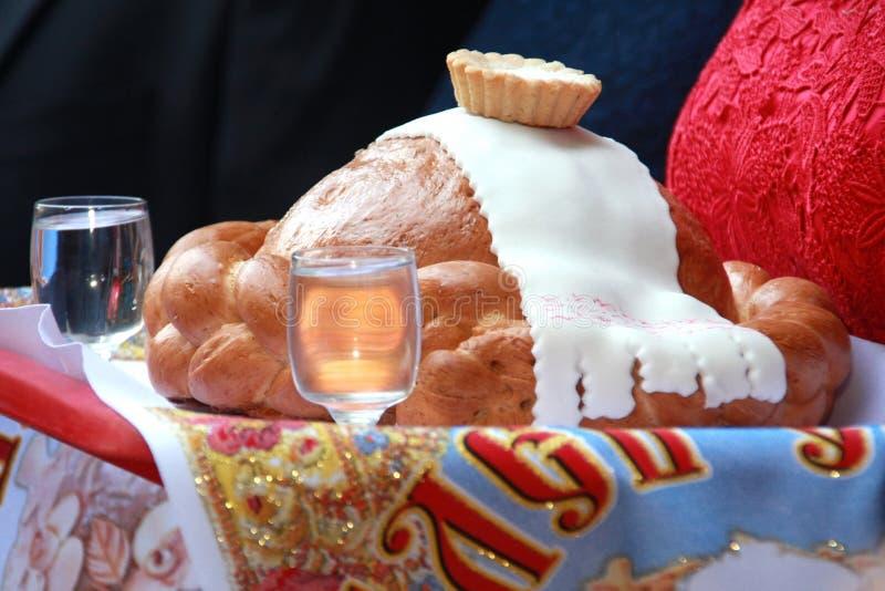Pane di nozze fotografia stock libera da diritti