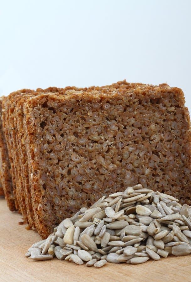 Pane di Rye affettato fotografia stock libera da diritti
