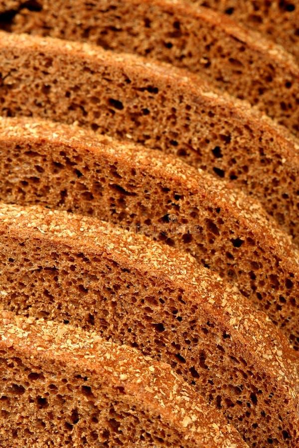 Pane di Rye affettato immagini stock