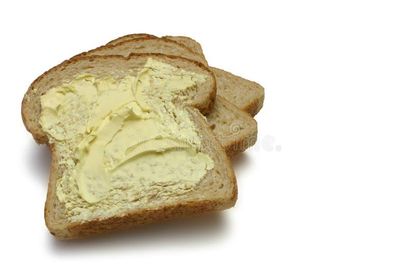 Pane e burro fotografie stock libere da diritti