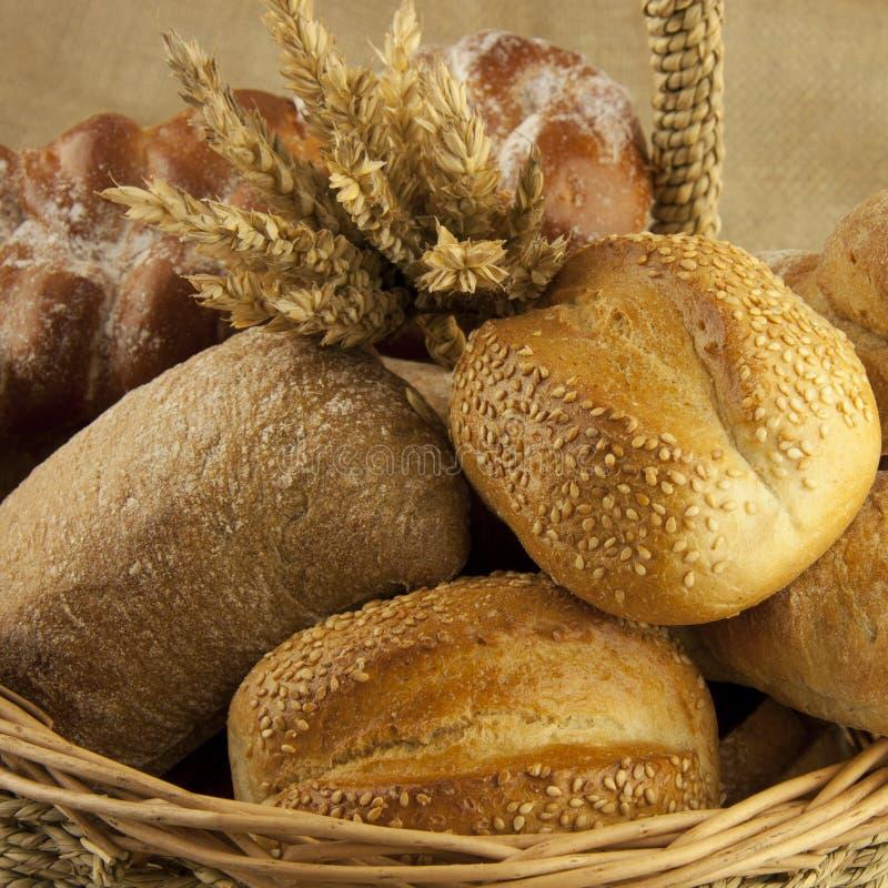 Pane e pasticcerie dell'assortimento fotografie stock libere da diritti