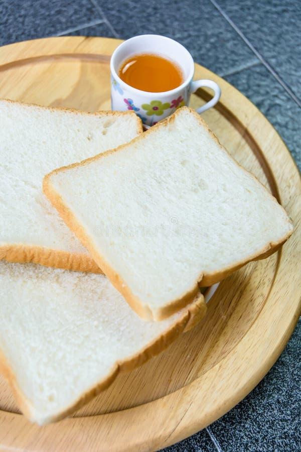 Pane ed aranciata fotografia stock libera da diritti