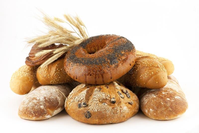 Pane fresco e panini fotografie stock libere da diritti