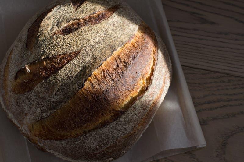 Pane integrale con il pacchetto immagini stock libere da diritti