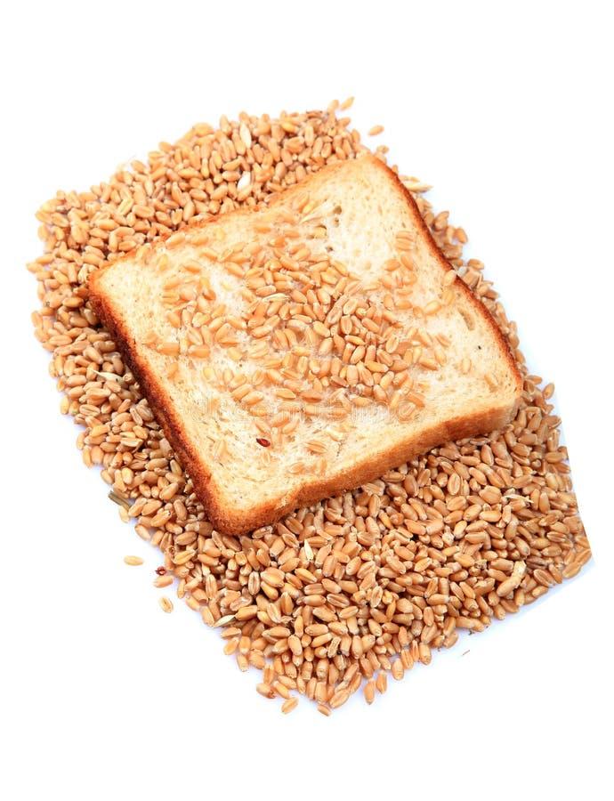 Pane marrone del frumento fotografie stock