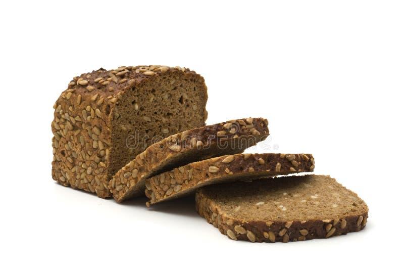 Pane marrone dell'intero granulo immagine stock libera da diritti