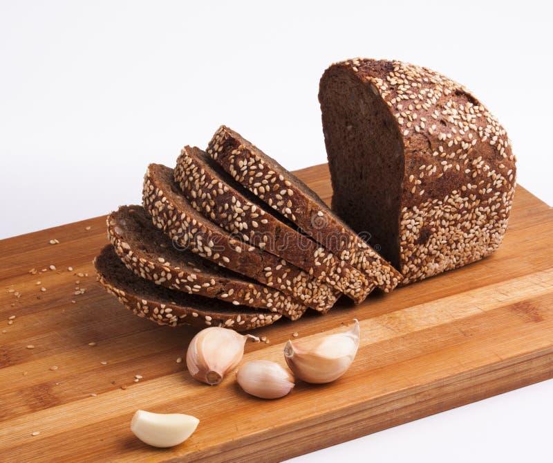 Pane nero di Multigrain immagini stock libere da diritti