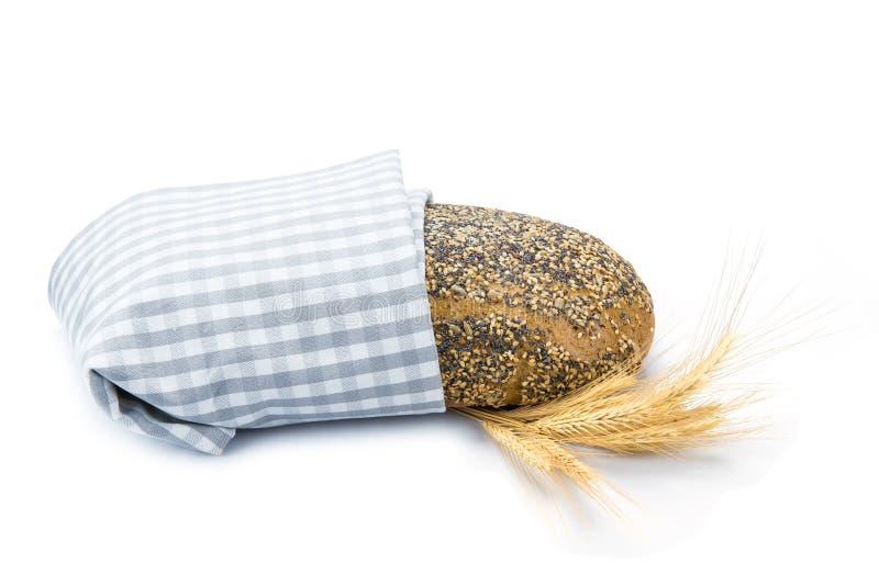 Pane nero di Multigrain fotografie stock