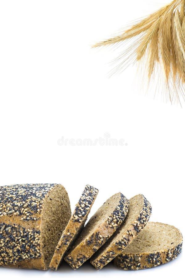Pane nero di Multigrain immagine stock