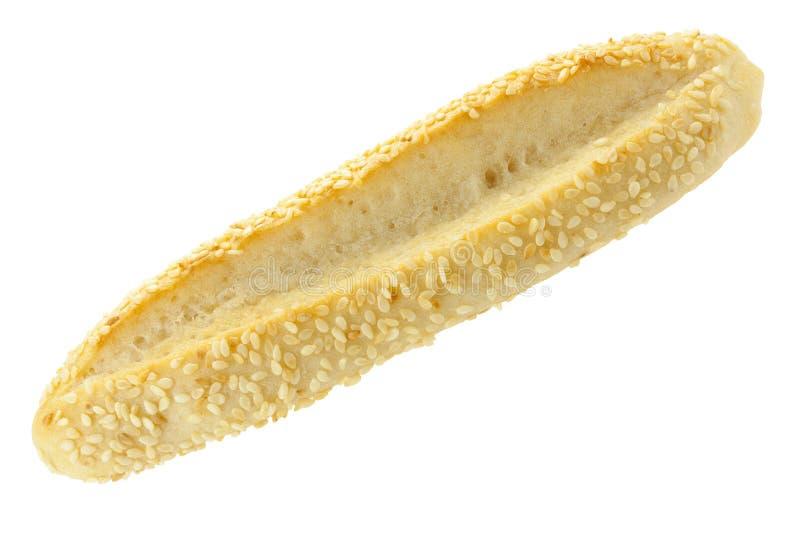 Pane saporito fresco con sesamo fotografia stock