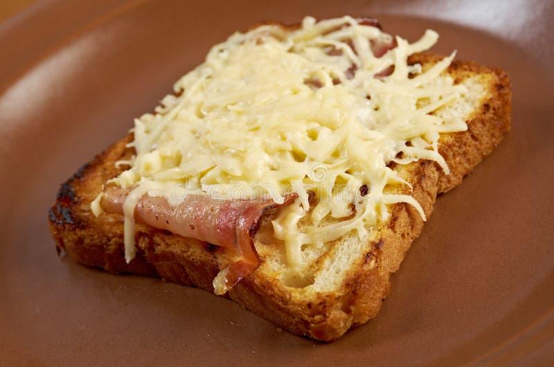 Pane tostato del formaggio immagini stock libere da diritti