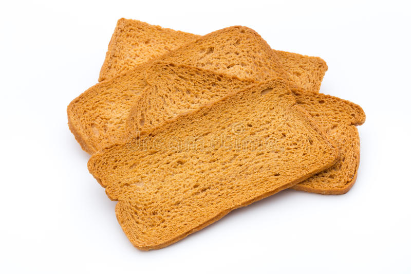 Pane tostato del pane fotografia stock